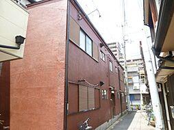 大阪府大阪市阿倍野区阿倍野筋5丁目の賃貸アパートの外観