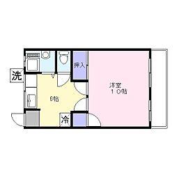 第一共同ビル[503号室]の間取り
