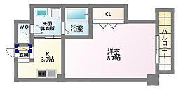 エリジオン2[2階]の間取り
