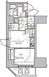 クレイシア入谷竜泉〜CRACIA IRIYA RYUSEN〜[3階]の間取り