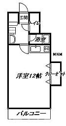 大阪府大阪市天王寺区勝山3丁目の賃貸マンションの間取り