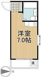 エスポワール田無[2階]の間取り