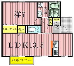 クレストパークABCDE[2階]の間取り