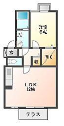 ELYSION HOUSE I[2階]の間取り