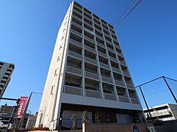 千葉県流山市前平井の賃貸マンションの外観