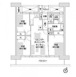 ライオンズマンション上戸田 学区/戸田第一小・新曽中