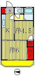 第一泉ビル[3階]の間取り