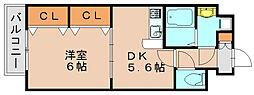 プレミールコノミ[2階]の間取り