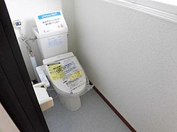 トイレは壁天井...