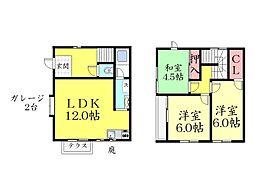 [一戸建] 兵庫県神戸市東灘区本山中町4丁目 の賃貸【/】の間取り