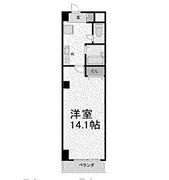 プロビデンス泉玉[4階]の間取り