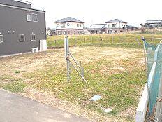 小美玉市小川B号地の現地写真です。
