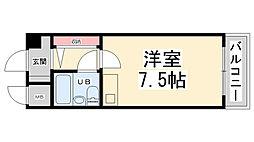 ピア40[4階]の間取り