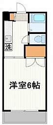 第3三池ビル[106号室号室]の間取り