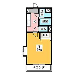 MYUIII[3階]の間取り