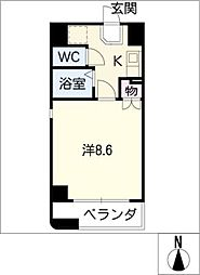 NTビル[9階]の間取り