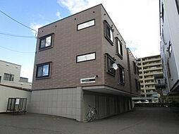 北海道札幌市東区北三十八条東14丁目の賃貸アパートの外観