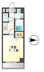 グリシーヌ名駅[2階]の間取り