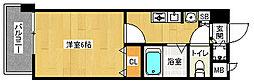 「スワンズ京都二条城北」[9階]の間取り