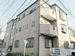 埼玉県川口市芝東町の賃貸アパートの外観