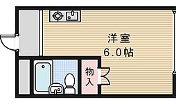 スタジオ32[405号室]の間取り