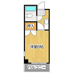 フォーラム1[3階]の間取り