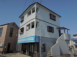 山春マンション[2階]の外観