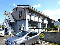 長野県上高井郡小布施町大字小布施の賃貸アパートの外観