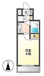 ラウムズ富士見町[9階]の間取り