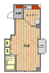 ノイメゾン桜台[502号室号室]の間取り