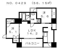 ZenII[2階]の間取り