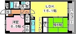 SOPHIA TOKUNAGA[703号室]の間取り