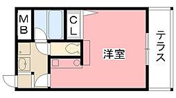 グランプラスシャトー[4階]の間取り