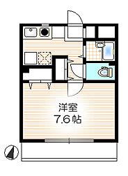 レキシントンマンション青柳I[2階]の間取り