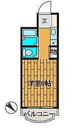 グランデ町田[2階]の間取り