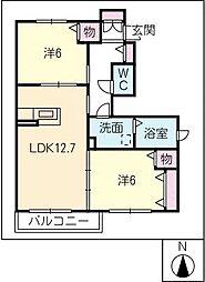 CHAVUI 6[1階]の間取り