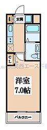 M'プラザ小阪駅前[4階]の間取り