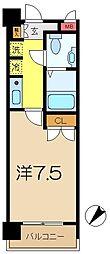 S−FORT蒔田公園[3階]の間取り