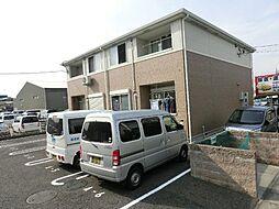 愛知県北名古屋市宇福寺神明の賃貸アパートの外観