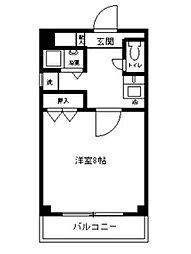 愛知県名古屋市昭和区藤成通6丁目の賃貸マンションの間取り