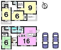 全室6帖以上のゆとりある間取りです。独立型の和室は寝室にぴったり。