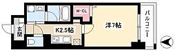 グランツェ名駅太閤通 4階1Kの間取り