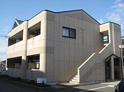 愛知県一宮市木曽川町黒田二ノ通りの賃貸アパートの外観