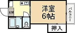 エスペランサU[2階]の間取り