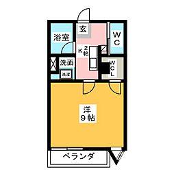 メゾン三貴[1階]の間取り