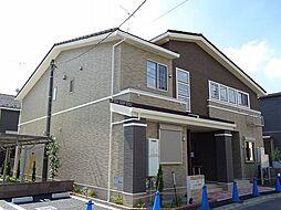 東京都あきる野市草花の賃貸アパートの外観