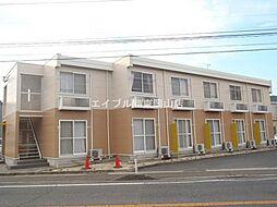 岡山県岡山市東区上道北方丁目なしの賃貸アパートの外観