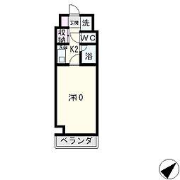 FELICE大橋[8階]の間取り