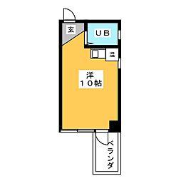 フロムイースト[5階]の間取り