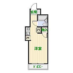TOP・五反野[208号室]の間取り